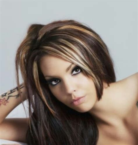 highlight hair gallery modern hair highlights for bangs best hair color trends