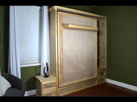 build a murphy bed diy murphy bed build wall bed hack without the hardware