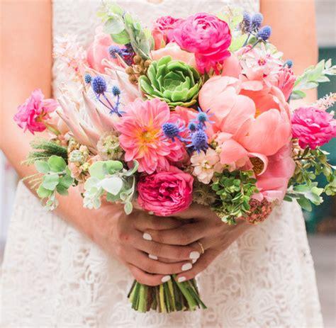 summer bridal bouquet wedding ideas 100 layer cake