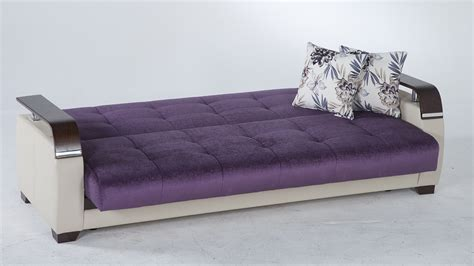 convertable bed natural prestige purple convertible sofa bed by sunset