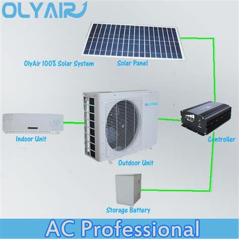 100 solaire climatiseur panasonic compresseur 48 v panneau solaire climatisation id de produit
