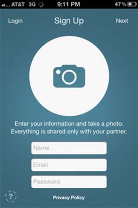 sign up for mobile 1000 images about mobile ui sign ups on ui