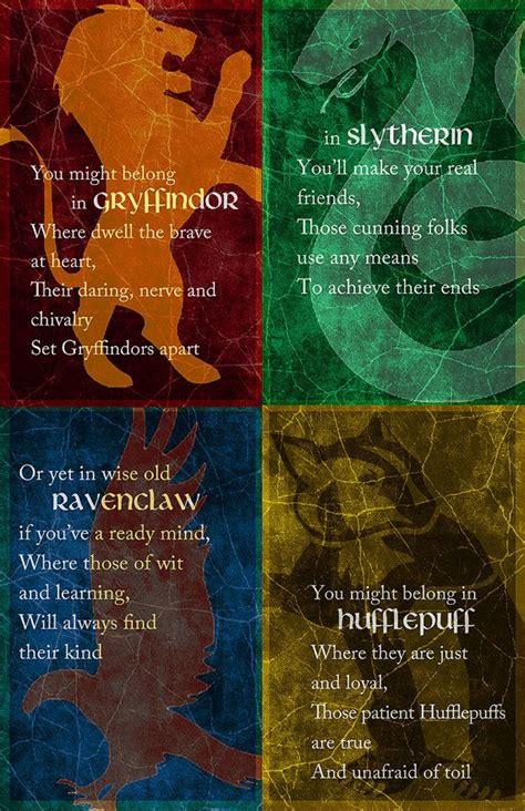 4 hogwarts houses 25 best ideas about hogwarts houses on pinterest harry