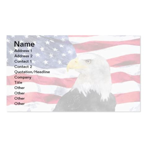Can You Use American Eagle Gift Cards At Aerie - american flag eagle double sided standard business cards pack of 100 zazzle