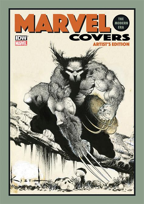 marvel covers the modern era artist s edition sam kieth cover idw publishing