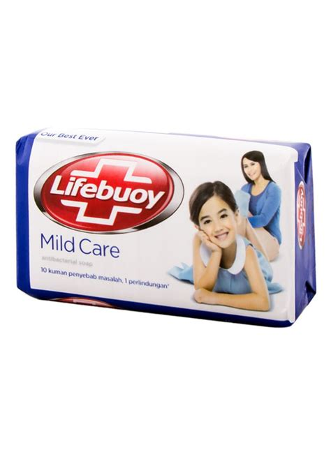 Sabun Lifebuoy lifebuoy sabun mandi ts 45599 mild care bar 75g
