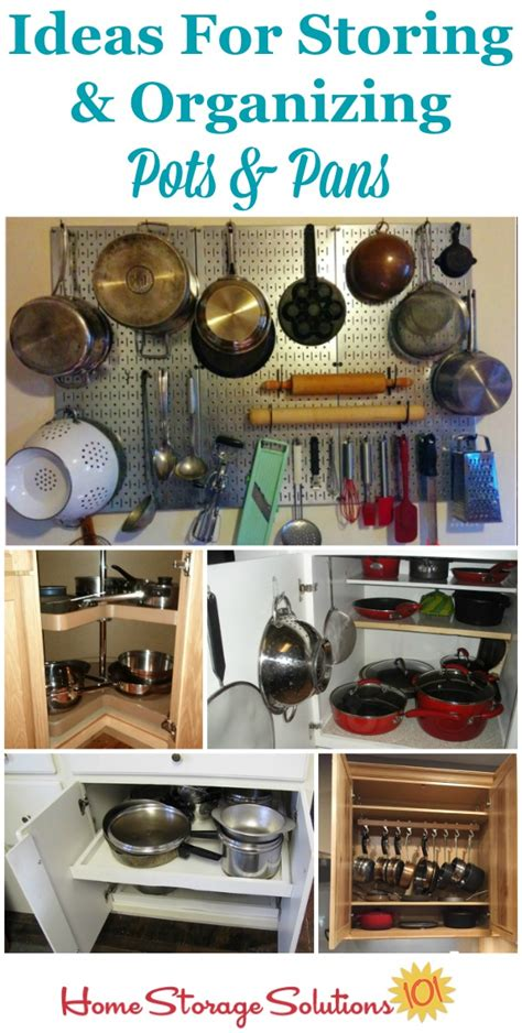 organize pots and pans organizing pots and pans ideas solutions