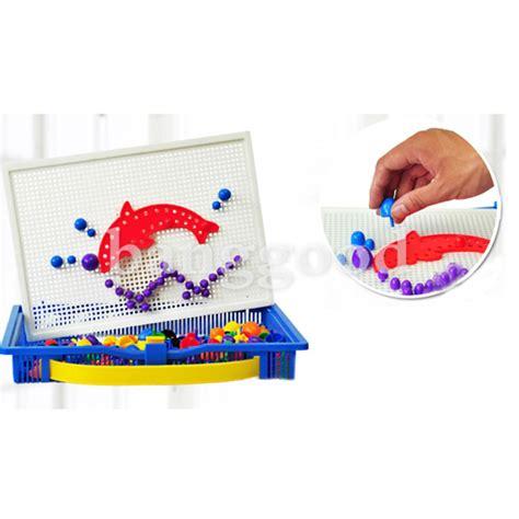Nagel Spielzeug by G 252 Nstig Kaufen Pilz Nagel Puzzle Stecktafel Spiel Child