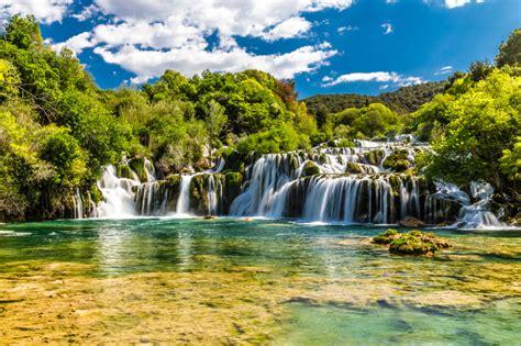 Puzzle Castorland Krka Waterfalls Croatia 4000 Pieces 1 skradinski buk waterfall dalmatia jigsaw puzzle in waterfalls puzzles on thejigsawpuzzles
