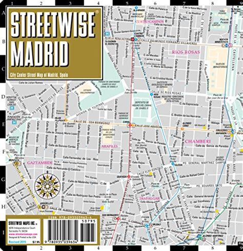 streetwise barcelona map laminated city center map of barcelona spain michelin streetwise maps books streetwise madrid map laminated city center map