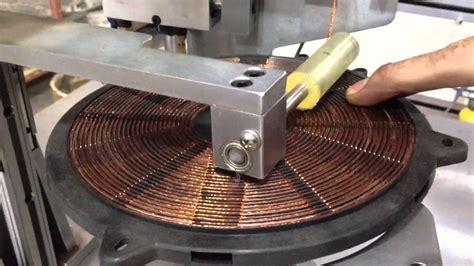induction heater free energy induction cooker winding machine demo ningbo nide mechanical equipment co ltd