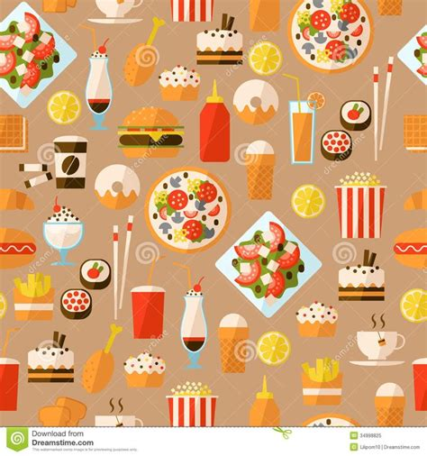 tumblr themes free food food pattern wallpaper tumblr seamless pattern with fast