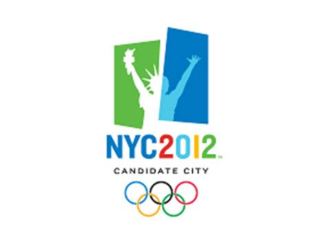 2012 olympic bid new york city new york u s fahnen flaggen fahne