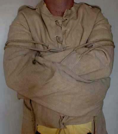 french straitjacket jacket