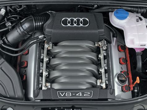 Motor Audi by 2004 Audi S4 B6 V8 Engine 2004 Free Engine Image For