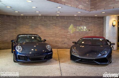 Lamborghini Porsche Porsche Of Houston And Lamborghini Houston Sponsor