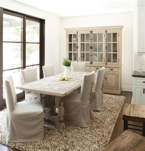 french country traditional dining room  york