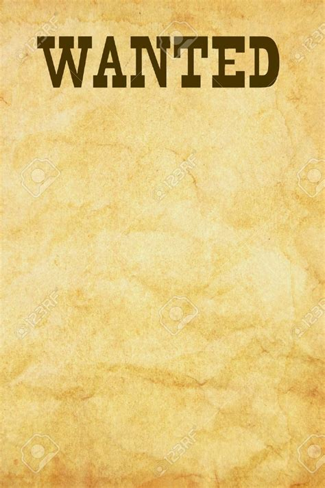 What S The Simplest Way Of Fashioning A Wanted Poster Wanted Poster Template