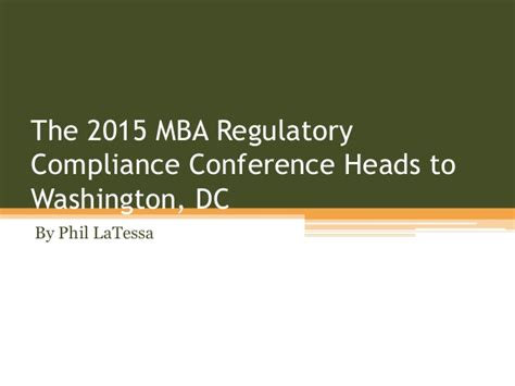 Mba Issues And Regulatory Compliance Conference 2017 mba programs washington dc todayswebac