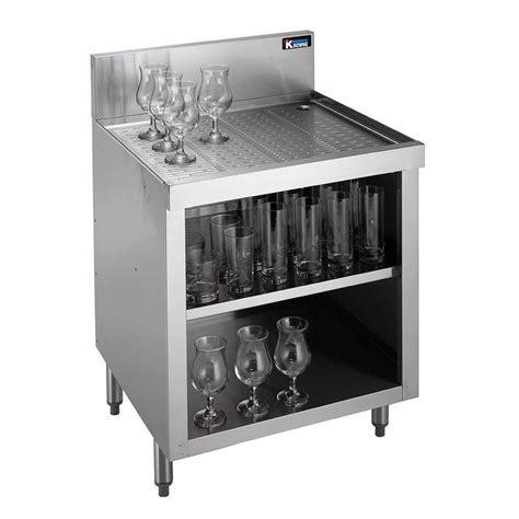 Bar Glass Storage Krowne Kr18 Gsb3 Bar Glass Storage Unit Open Base