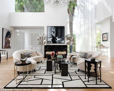 designer transforms living room    kris jenners