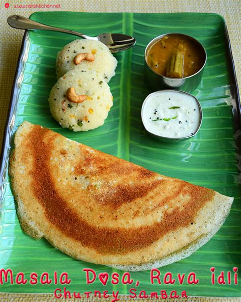 Raks Kitchen Masala Vada by Rava Idli Masala Dosa South Indian Breakfast Menu 14