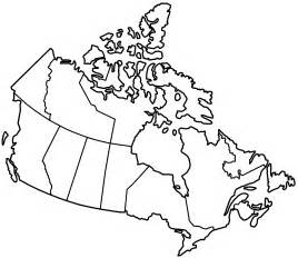 blank map of us states and canadian provinces canada provinces blank mapsof net