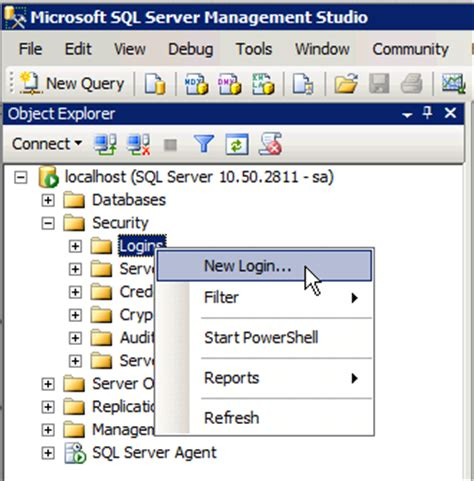 how to create server in no more room in hell creating a user and granting table level permissions in sql server chartio support