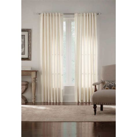 foam backed drapes home decorators collection ivory monaco thermal foam