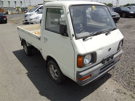subaru sambar truck engine subaru sambar truck 4wd 1989 used for sale
