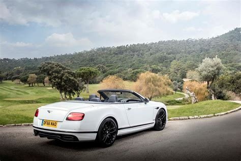 2017 white bentley convertible by the numbers 2017 bentley continental supersports