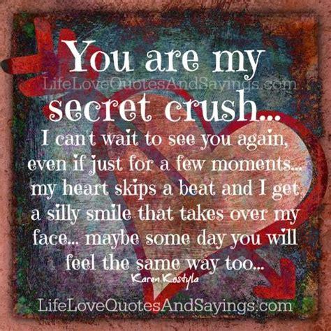 my secret quotes secret crush quotes for quotesgram