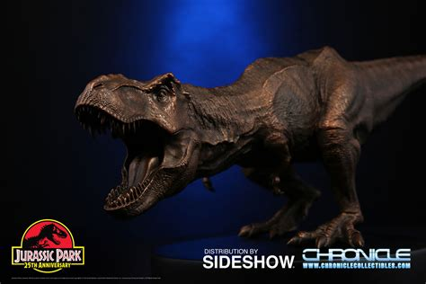 Jurassic Park Collectibles jurassic park bronze t rex statue by chronicle