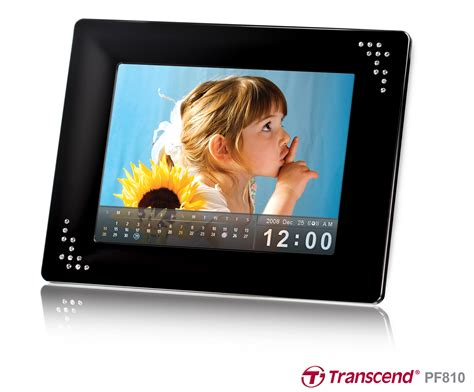 cornice digitale touch screen transcend presenta la nuova cornice digitale touch screen