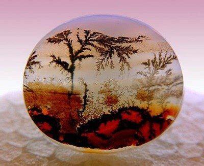 Batu Akik Unik Warna Pelangi agate landscape batu mulia unik dengan corak pemandangan