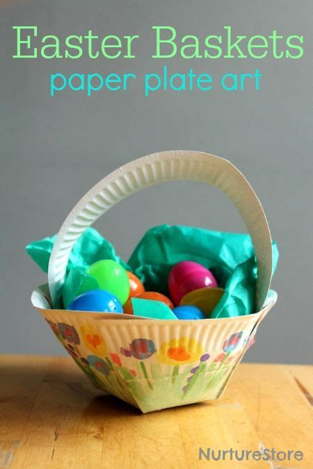 Paper Basket Craft Ideas - 25 best ideas about paper plate basket on