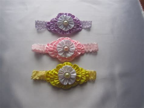 Handmade Headbands For Babies - handmade baby toddler headband hair accessories headwrap