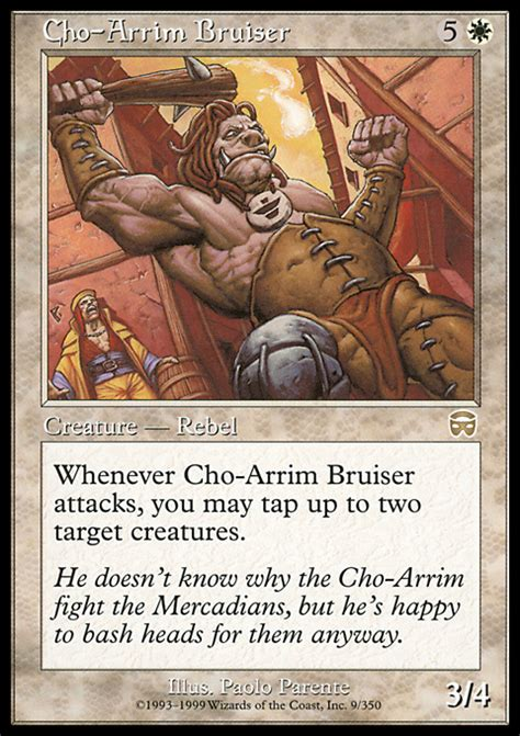 Magic The Gathering Single R Prepare Fight cho arrim bruiser magic the gathering card info