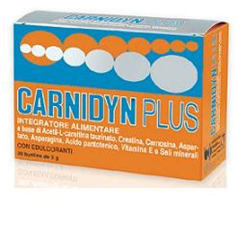 miglior integratore alimentare carnidyn plus integratore 20 bustine