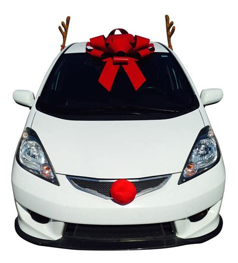 how to decorate your car at christmas