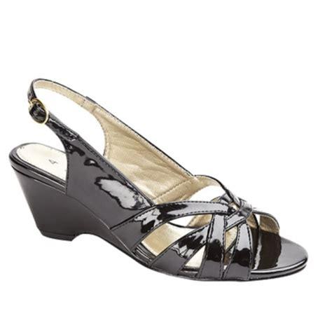 comfort plus sandals comfort plus womens ladies wide e patent shoes black buy