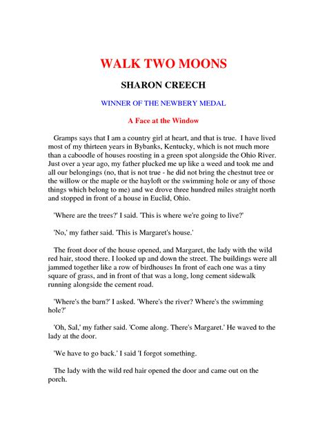 walk two moons book report walk two moons essay essay on saturn and its two moons