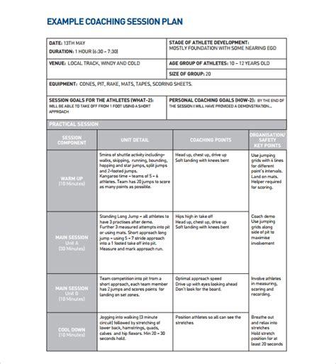 sle process improvement plan template coaching plan template teacheng us