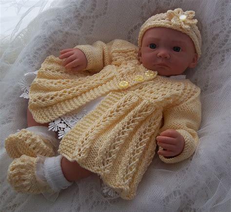 baby doll knitting patterns uk dk baby knitting pattern 39 to knit or reborns