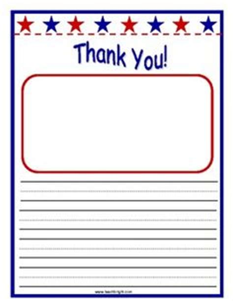 thank you letter veterans sles free printable writing paper to thank members