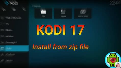android zip file kodi 17 install from zip file android