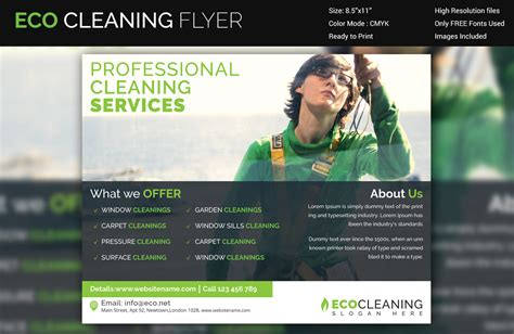 commercial cleaning brochure templates commercial cleaning brochure templates 2 clear and