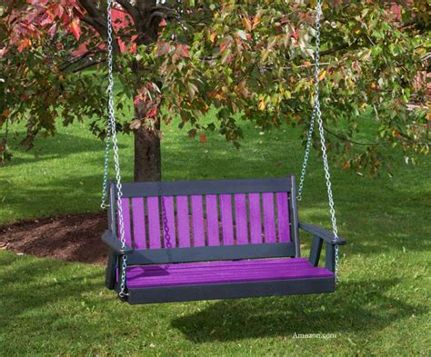 porch swing colors polywood porch swings for style color and durability