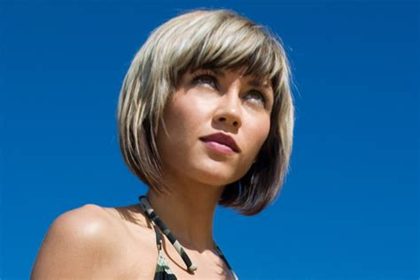 hairstyles bob thick hair short bobs