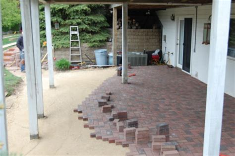 installing paver patio base paver installation guide by decorative landscapes